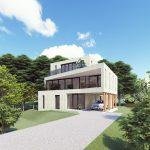 Schetsontwerp bosvilla Almere goedgekeurd